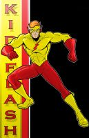 80's Kid Flash DC Y.B. Series by Thuddleston