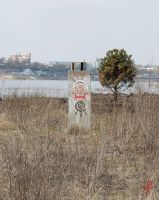 old pillar by Sukharev