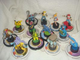 My Pokemon Trading Figurines Collection by davyjonesentei123