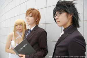 Death Note Group by touyahibiki