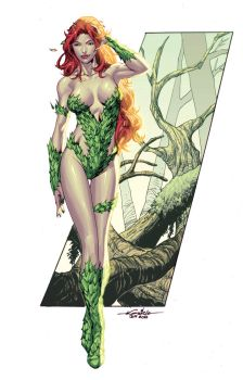 Posion Ivy quickpaint by Guile Sharp by Ross-A-Campbell