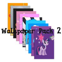 iOS Pony Wallpaper Pack 2 by FozzyWig