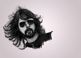 Dave Grohl WIP by robbyphills