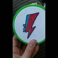 david bowie patch by blossomingreality