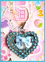 Heart CellPhone Charm by cherryboop