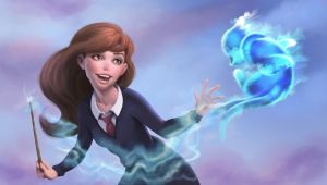 Hermione : Poketronus = Buizel by PastyWhite