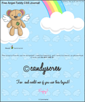 Angel-Teddy CSS Journal by candysores
