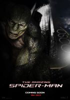 The Amazing Spider-Man Lizard v.1 by satorifrenzy