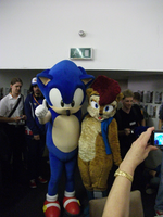Sonic and Saily at sos by f-sonic