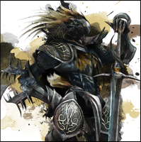 The Black Knight - Divinas by HavenHawk