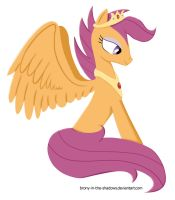 Queen Scootaloo by brony-in-the-shadows