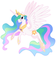 MLP Resource: Celestia 02 by ZuTheSkunk