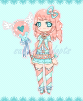 Collab Auction Adopt(open) by Sakura8sushi