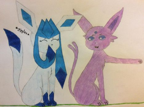 Laughs and Giggles by Glacie-The-Glaceon