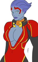 Samara colored by SickSean