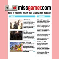 Miss Gamer site by Pirlipat