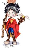 Harry Potter chibis - Harry by incaseyouart