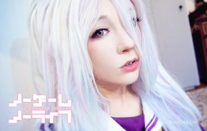 No Game No Life - Shiro by PeterPan-Syndrome