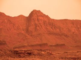 Mars landscape from photo 02 by Ludo38