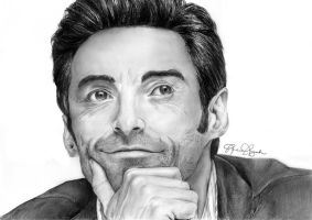 Hugh Jackman by forevergeek