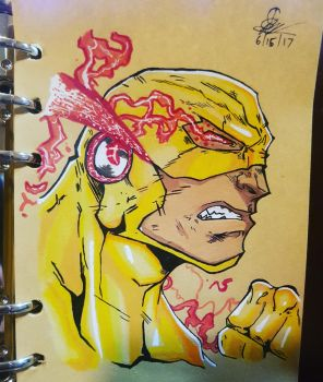 The Reverse Flash by SafeerRAZA123