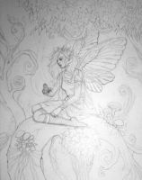 Fairy Sketch to Be Painted by linranae