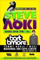 Steve Aoki and Bart Bmore Flyer by DeWeirdo