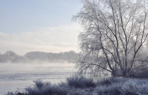 River Bann in winter VI by younghappy