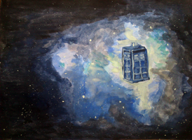 Tardis by Speck--Of--Dust