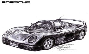 Porsche Schuppan 962CR Supercar by toyonda