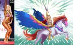 Holly Barker Is She-Ra On Swift Wind By Ulics by zenx007