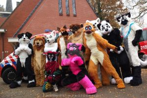 The Sinterklaas group by FurryFursuitMaker
