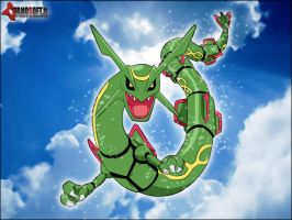 Rayquaza by Kidel