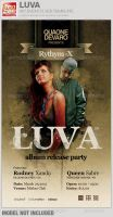 Luva Album Release Flyer Template by loswl