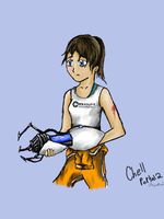 Chell by xenomorphfury161