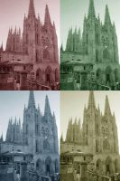 Burgos Gohtic-pop Cathedral by Valerian32