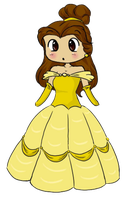 Belle Chibi by PuccaNoodles2009