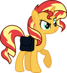 sneaky sunset shimmer by shaynelleLPS