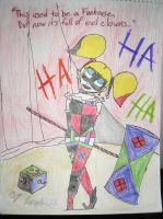 Harley Quinn in Funhouse by Purple628