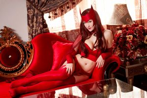 Luxury - Scarlet Witch by Mostflogged