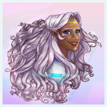 A Portrait of Allura by clarinking