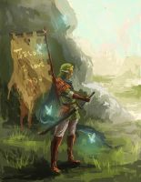 Samurai Link by tsundere-power