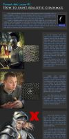 DA lesson #2: How to Draw Chainmail by Wontkins