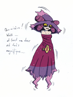 Fantina to Mismagius -color- by AxelD