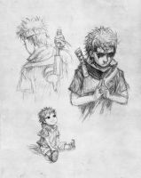 Shisui sketches by k1deki