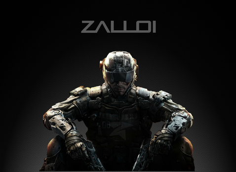 Call of Duty: Black Ops 3 Zalloi Future Soldier by Zalloi