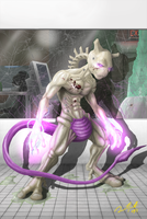 Mewtwo by Crackdtoothgrin