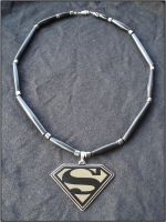 Superman Necklace by RebelATS
