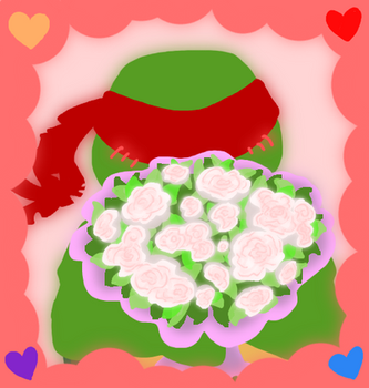 Be Raph's Valentine by AnimeWaterFall
