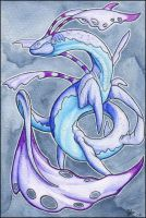 Watercolor dragon 08 by mythori